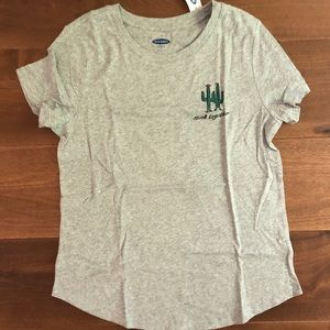 NWT Old Navy Stick Together Grey T-Shirt!!